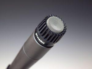 Mikrofon Test dynamisches Mikro